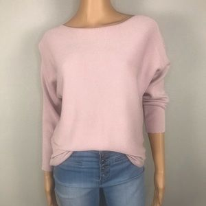 Leighton ribbed dolman sleeves sweater